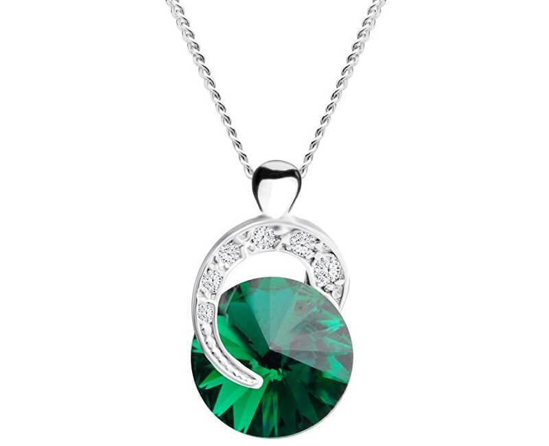 Preciosa Stříbrný náhrdelník Gentle Beauty 6766 66 (řetízek, přívěsek)