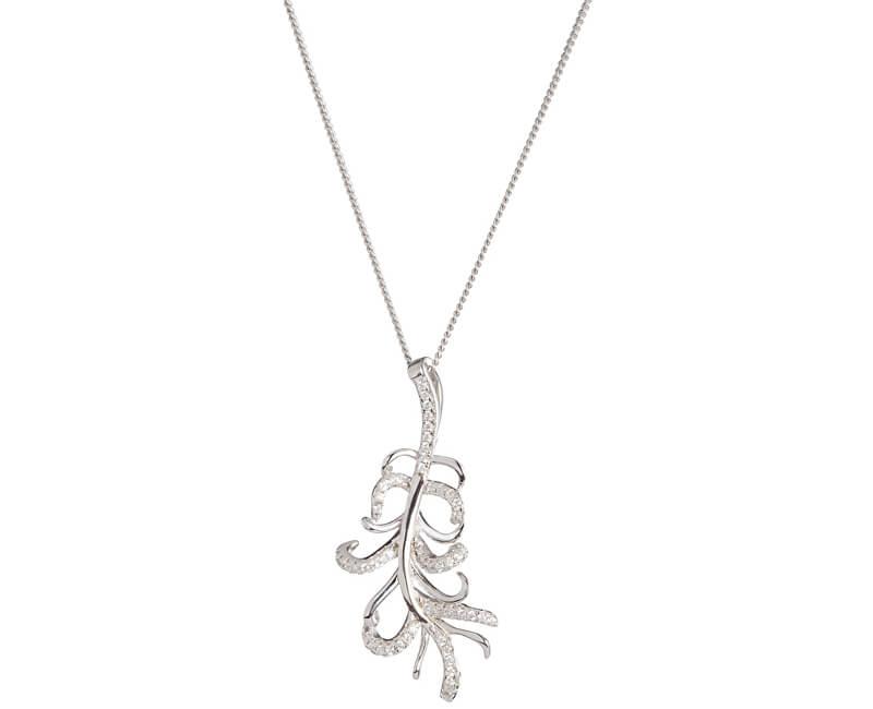 Preciosa Strieborný náhrdelník s kryštálmi Joy 5188 00