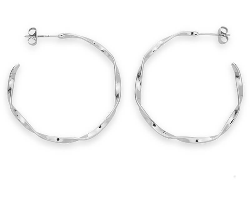 Rosefield Ocelové náušnice kruhy Iggy JTWHS-J095