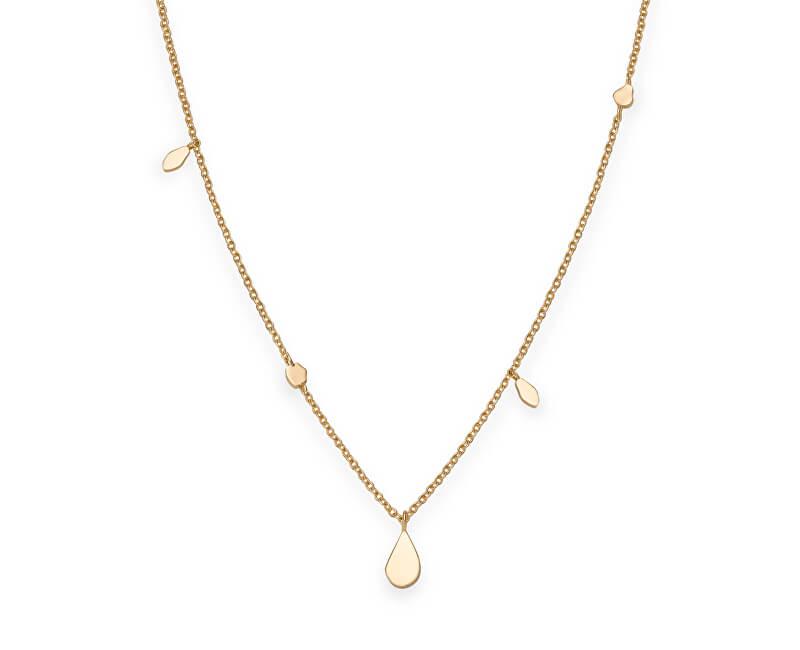 Rosefield Pozlacený ocelový náhrdelník Iggy JSDNG-J054