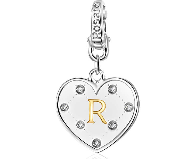 Rosato Stříbrný přívěsek Alphabet RAL018