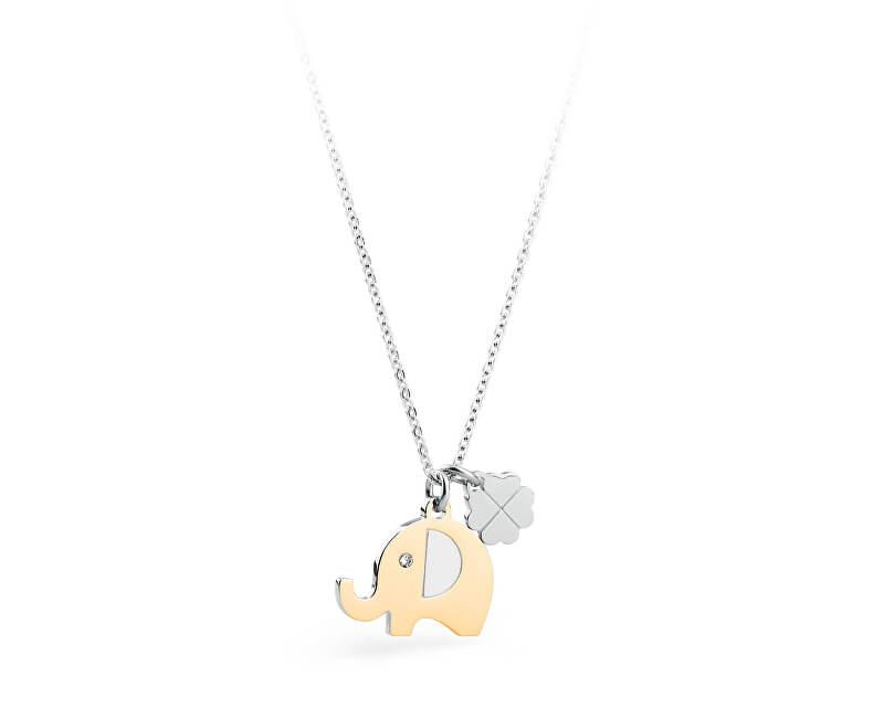 S`Agapõ Colier Elefant norocos Blinky SBK03