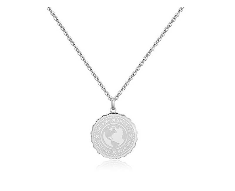 e3947d0c5 S`Agapõ Ocelový náhrdelník Dreams Coin SKY01   Sperky.cz