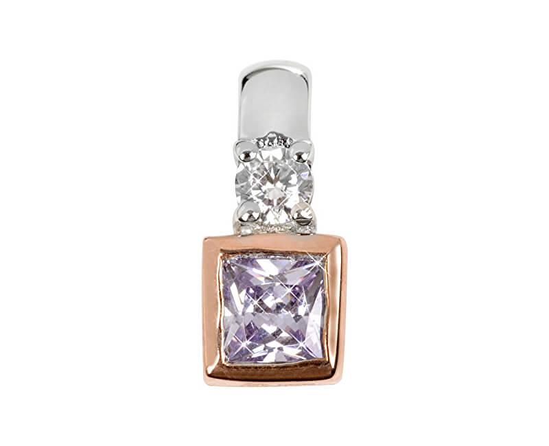 Silver Cat Stříbrný přívěsek s krystaly SC146