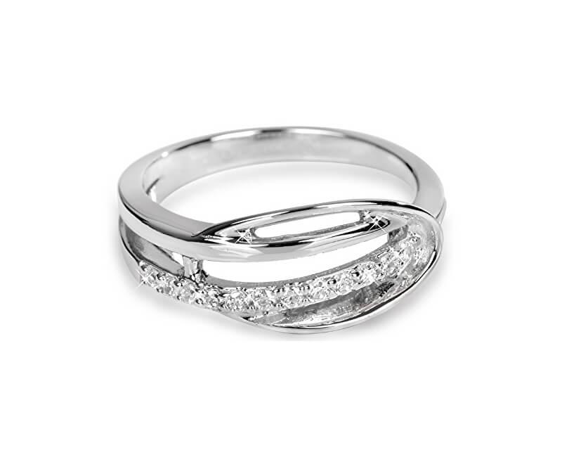 94cf01b30 Silver Cat Stříbrný prsten s krystaly SC160 | Sperky.cz