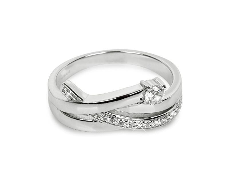 c7e086bb4 Silver Cat Stříbrný prsten se zirkony SC203 Doprava ZDARMA ...