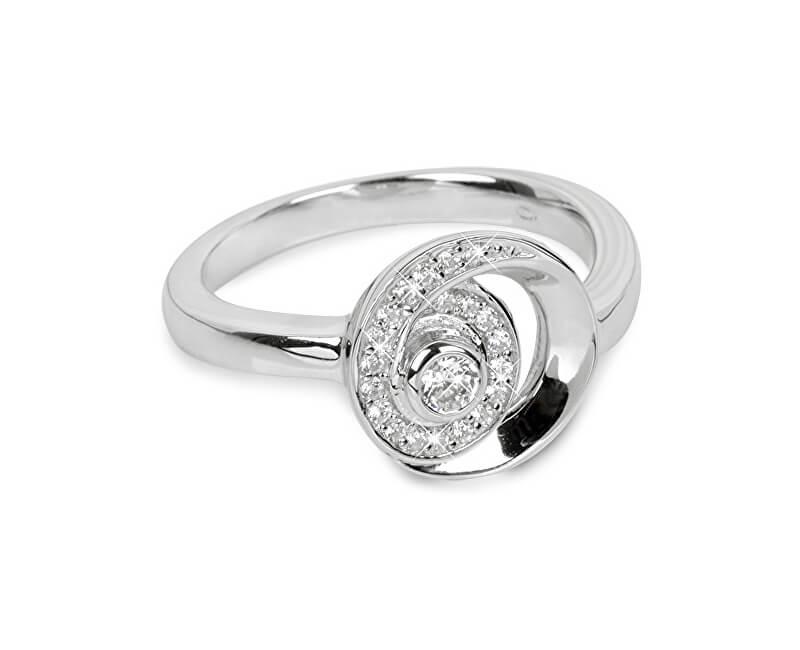 Silver Cat Strieborný prsteň so zirkónmi SC221