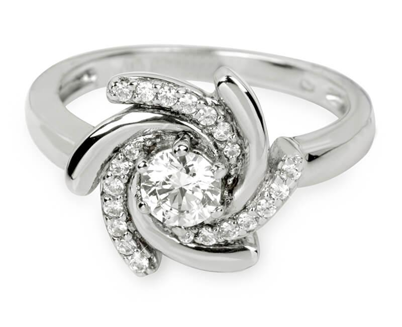 e160aaf22 Silver Cat Stříbrný prsten s krystaly SC040 Doprava ZDARMA ...