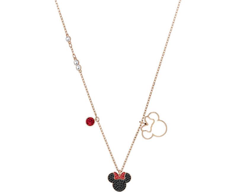 Swarovski Bronzový náhrdelník Disney Minnie 5429090