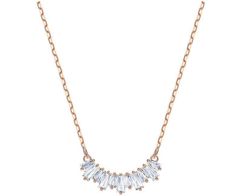Swarovski Bronzový náhrdelník s třpytivými krystaly SUNSHINE 5459590