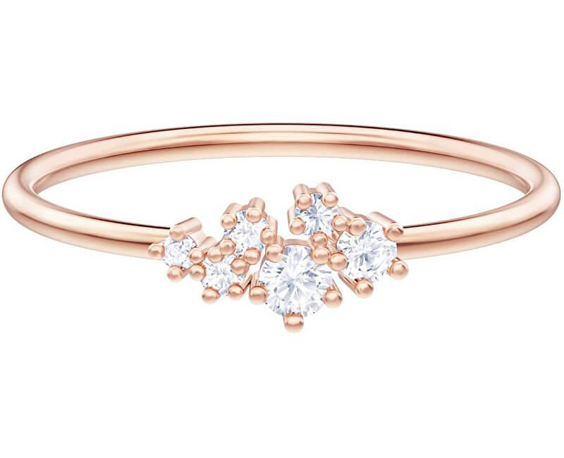 Swarovski Bronzový prsten s krystaly MOONSUN 5486819