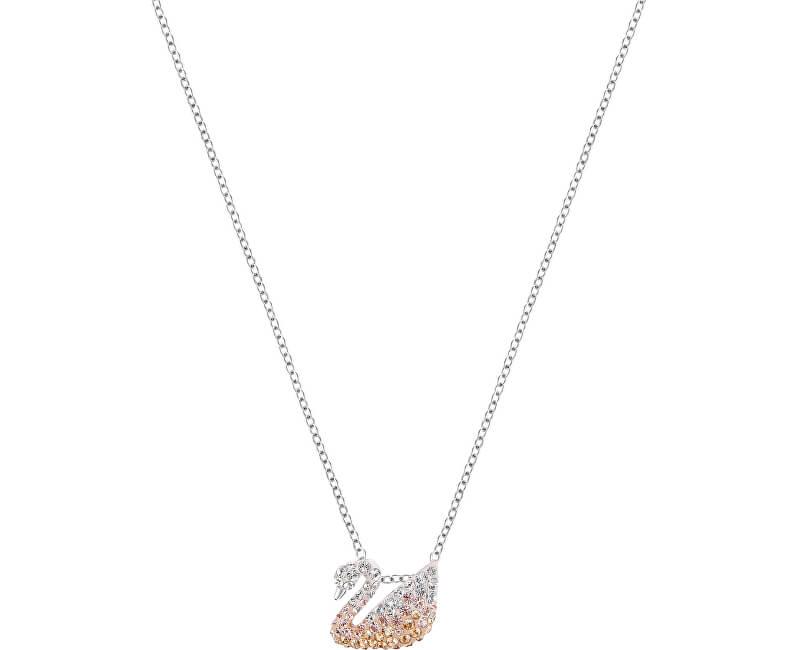 Swarovski Labutí náhrdelník ICONIC SWAN 5215038