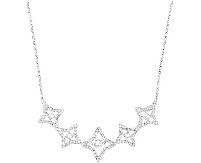 Swarovski Luxusní náhrdelník s hvězdičkami SPARKLING DANCE 5349663