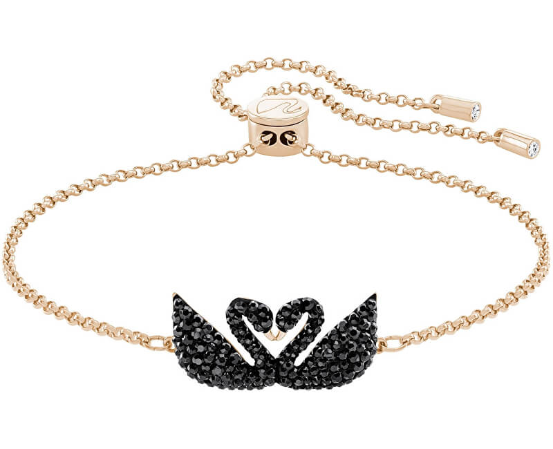 Swarovski Luxusní náramek s labutěmi 5344132