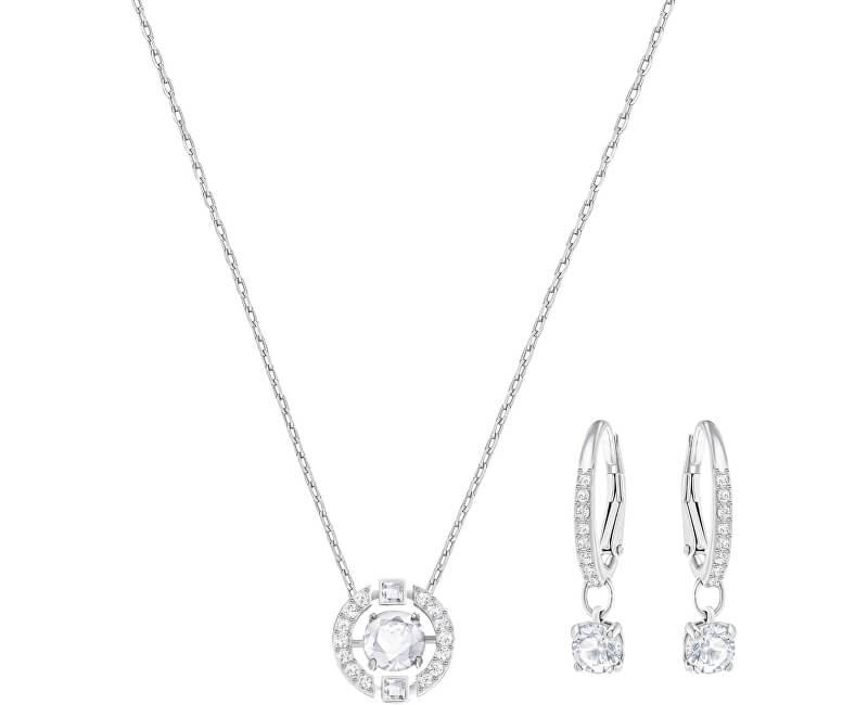 Swarovski Luxusní sada náhrdelníku a náušnic SPARKLING DANCE 5279018