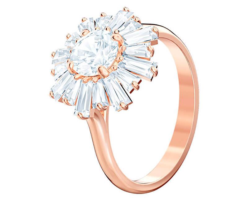 795166b26 Swarovski Oslnivý bronzový prsten SUNSHINE 5474917 Doprava ZDARMA ...