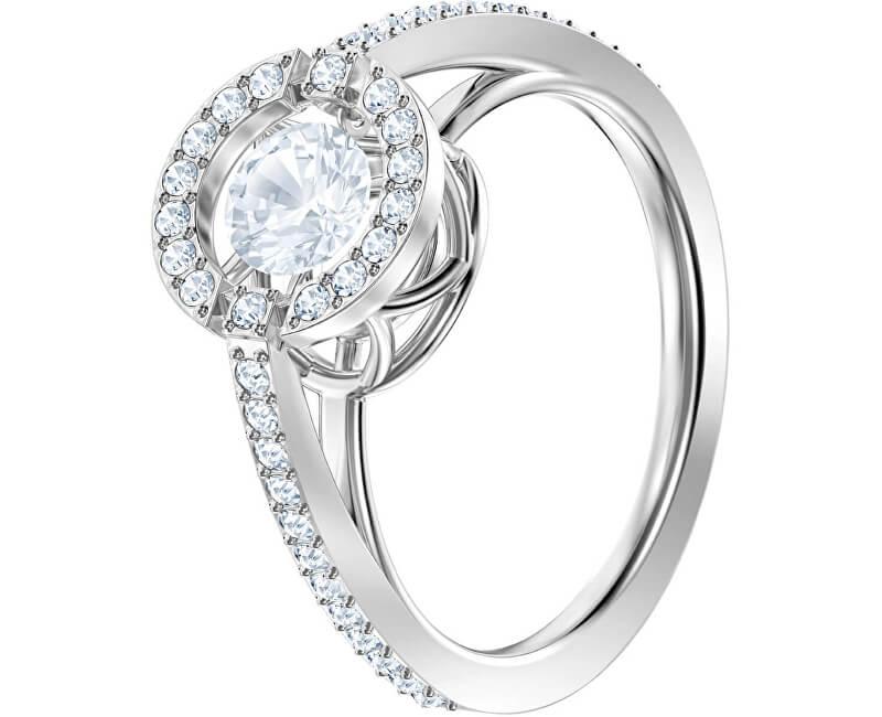 Swarovski Oslnivý prsten SPARKLING DANCE 5482516