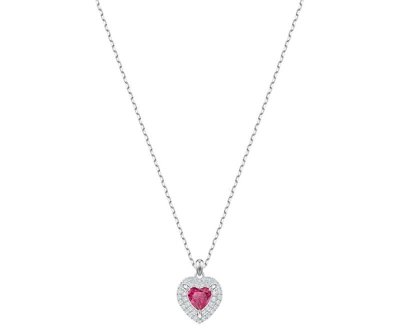 d531ef00f Swarovski Romantický náhrdelník se srdíčkem ONE 5446301 Doprava ...