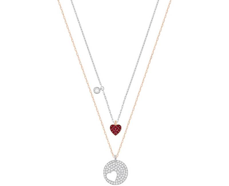 Swarovski Sada dvou náhrdelníků Crystal Wishes 5255351