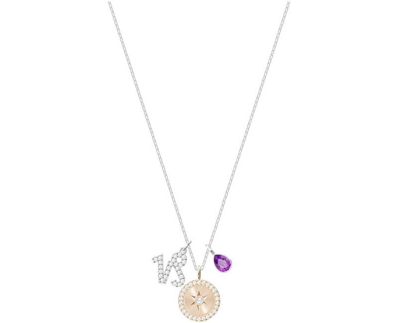 Swarovski Slušivý náhrdelník Kozoroh ZODIAC 5349216