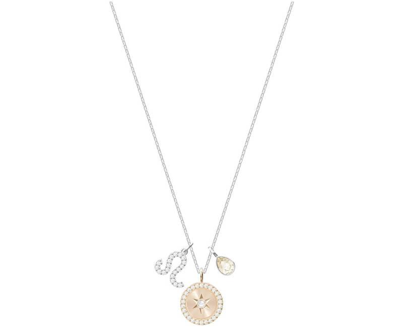 Swarovski Slušivý náhrdelník Lev ZODIAC 5293512