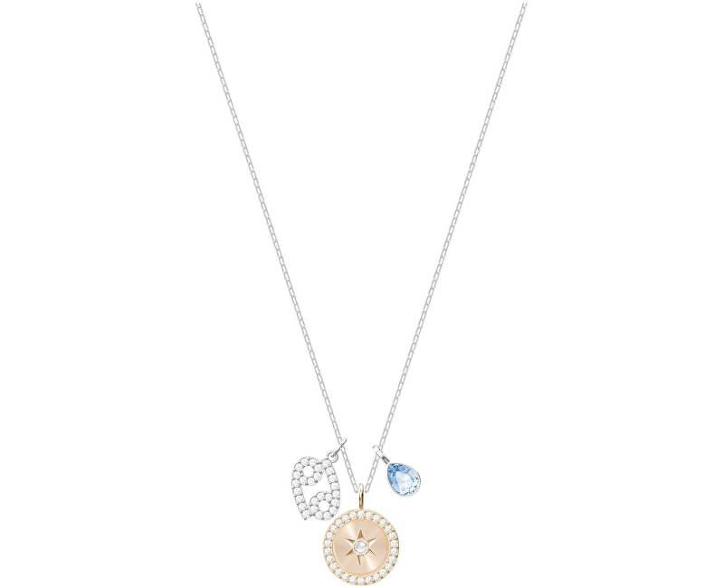 Swarovski Slušivý náhrdelník Rak ZODIAC 5349215