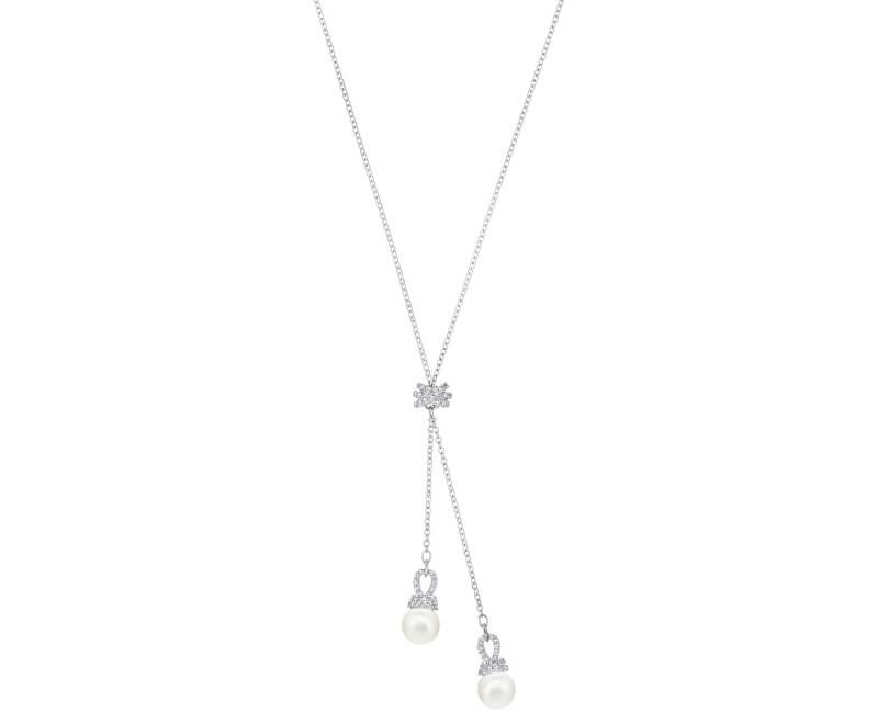 Swarovski Slušivý náhrdelník s perličkami ORIGINALLY 5467313
