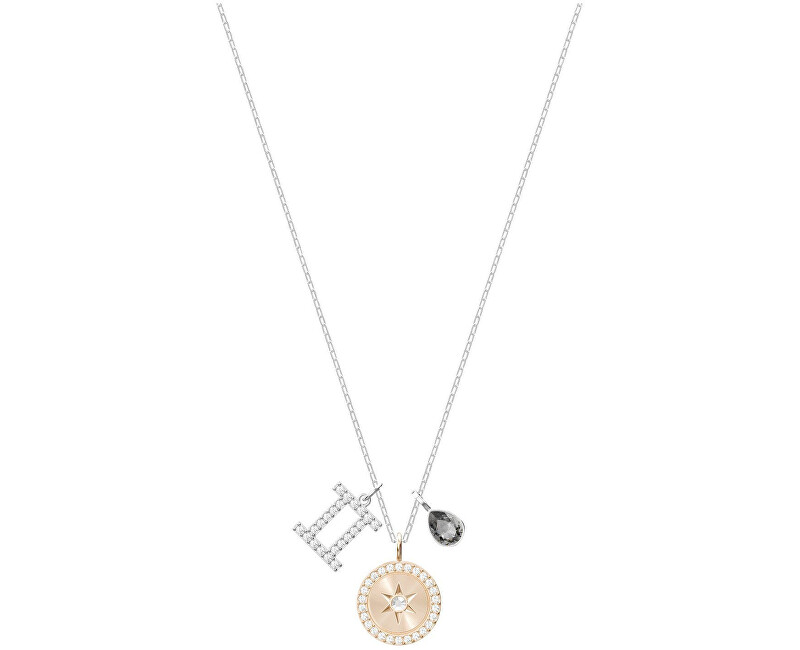 Swarovski Slušivý náhrdelník Blíženci ZODIAC 5349217