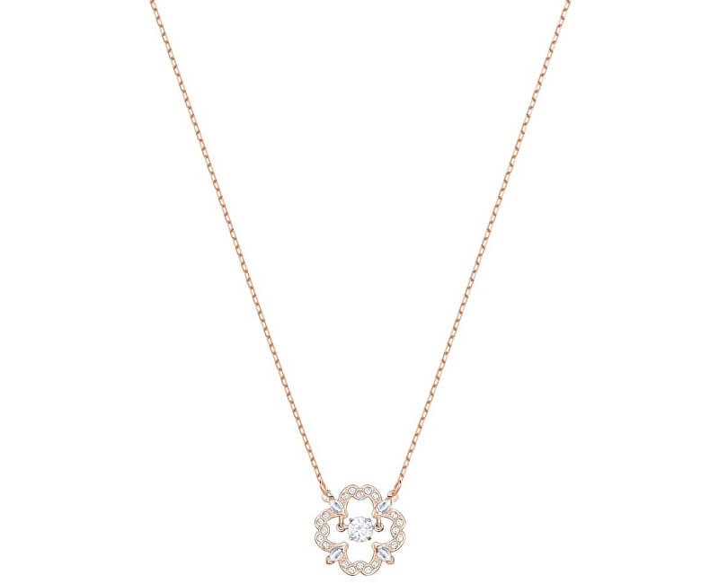 Swarovski Stylový náhrdelník s kytičkou SPARKLING DANCE 5408437