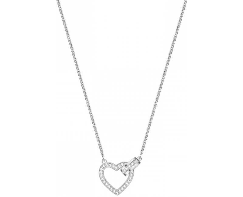 Swarovski Stylový náhrdelník se srdíčkem LOVELY 5380703