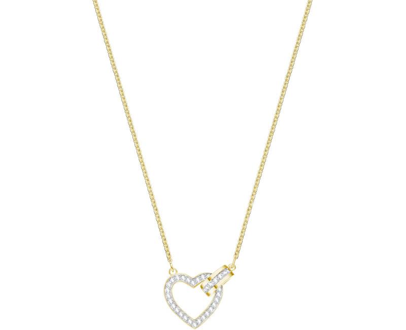 Swarovski Stylový náhrdelník se srdíčkem LOVELY 5405576