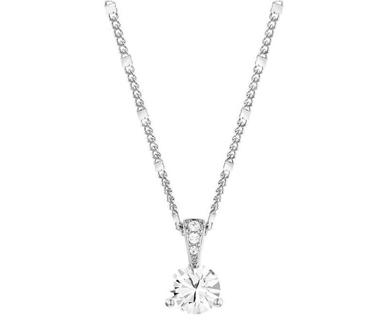 Swarovski Třpytivý náhrdelník SOLITAIRE 1800045