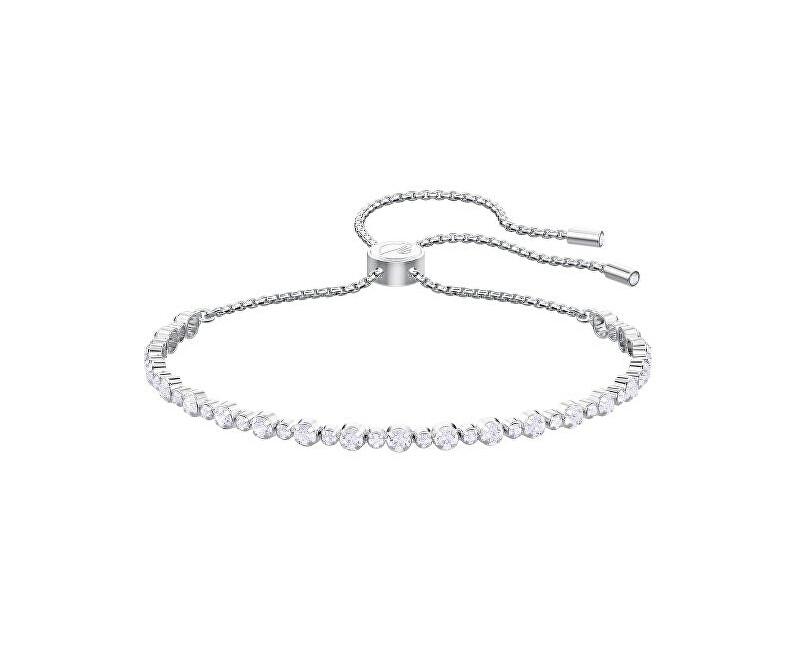 Swarovski Třpytivý náramek s čirými krystaly SUBTLE 5465384