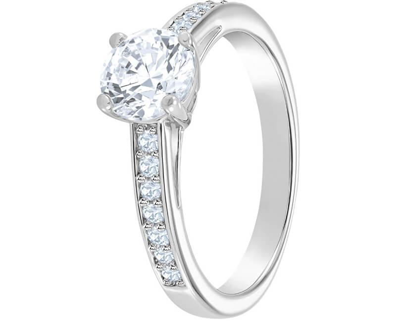 Swarovski Třpytivý prsten ATTRACT ROUND 5032919