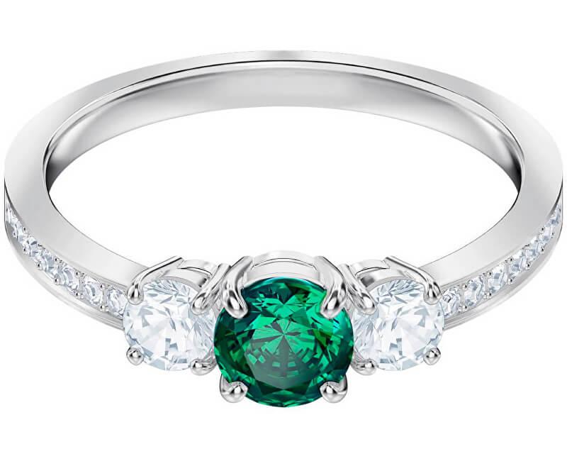 Swarovski Třpytivý prsten ATTRACT TRILOGY 5448893