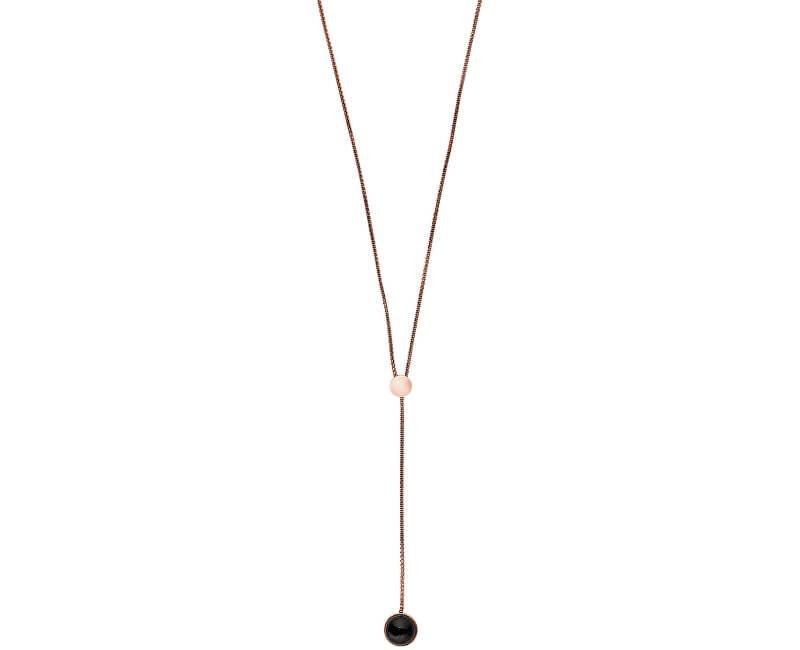 Skagen Dámský bronzový náhrdelník SKJ1040791