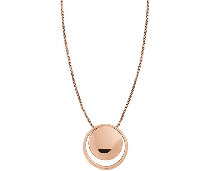 Skagen Elegantní bronzový náhrdelník SKJ0847791