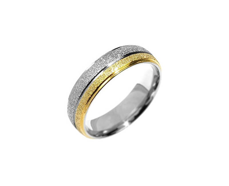 Silvego Snubní ocelový prsten Flers RRC0365