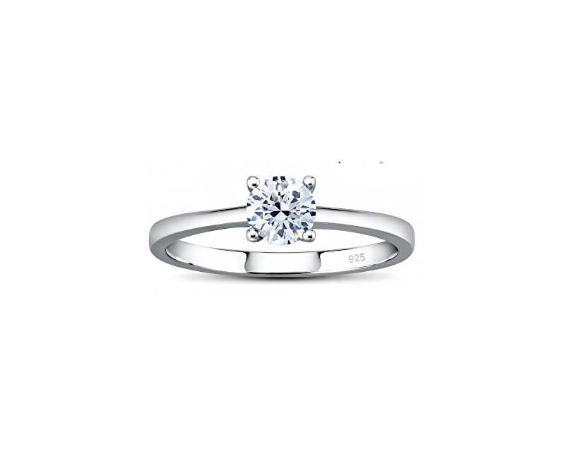 Silvego Stříbrný prsten MADISON se Swarovski Zirconia JJJR2339sw