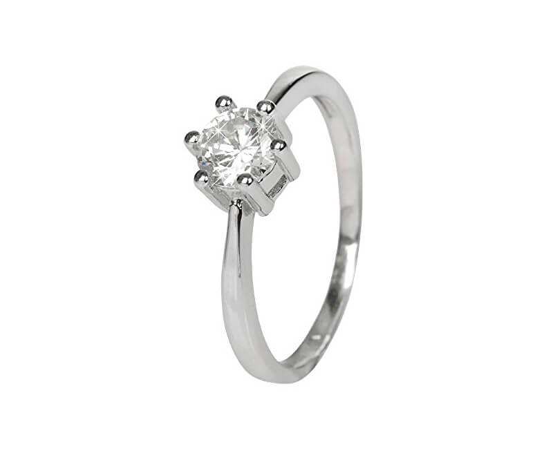Selilya Silver Stříbrný zásnubní prsten SRJ35