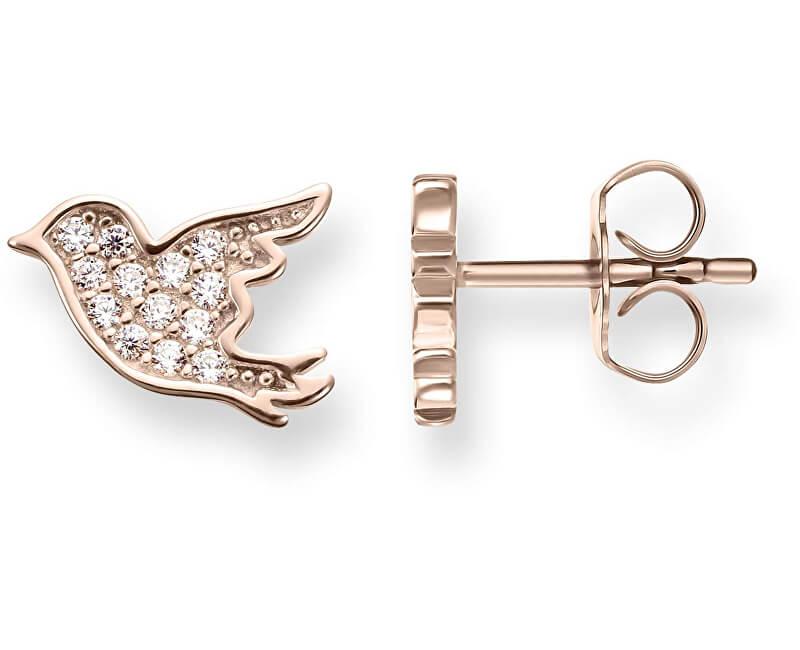Thomas Sabo Cercei de argint Păsări de bronz H1866-416-14