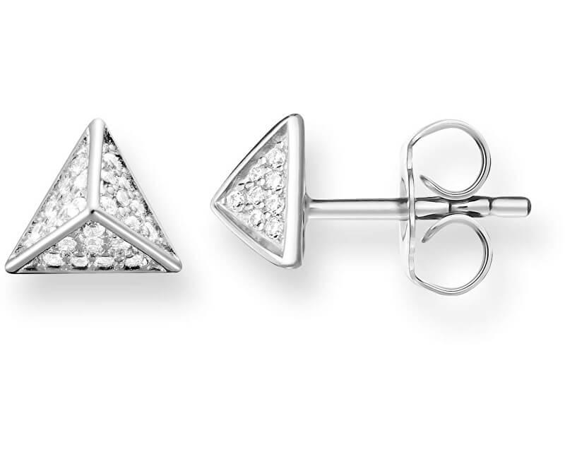 Thomas Sabo Cercei de argint Piramide H1867-051-14