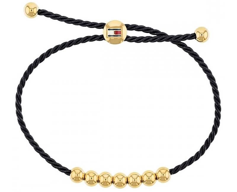 Tommy Hilfiger Fashion náramek s pozlacenými korálky TH2780005