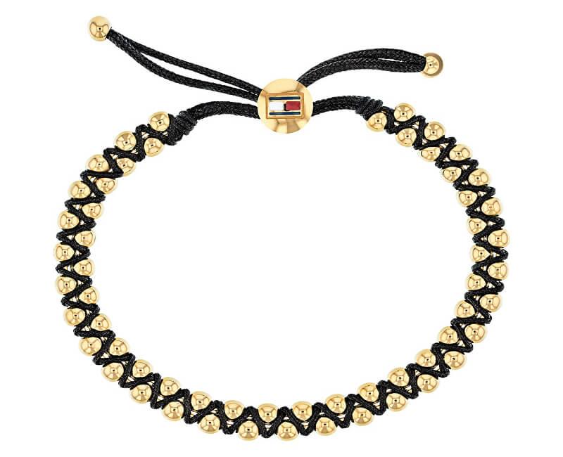 Tommy Hilfiger Fashion náramek s pozlacenými korálky TH2780006