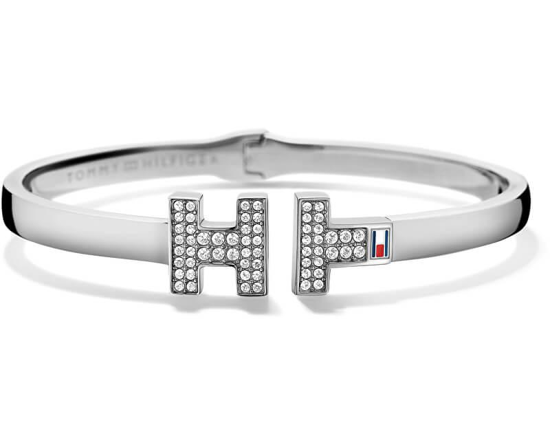 Tommy Hilfiger Luxusní náramek s krystaly TH2700983