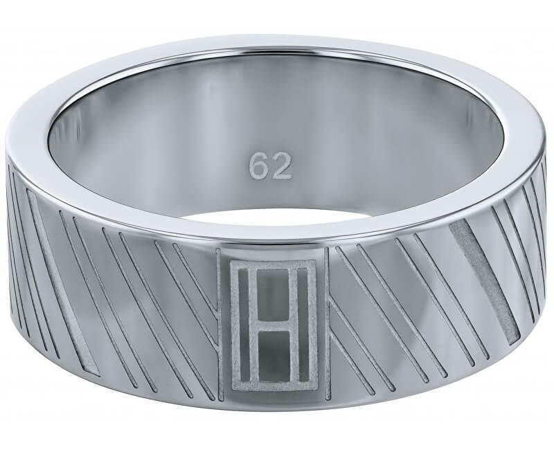Tommy Hilfiger Inel din oțel pentru bărbați TH2701102