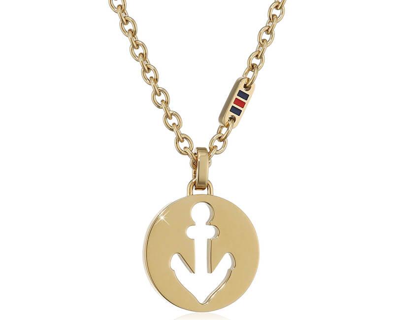 ada9ed62e3 Tommy Hilfiger Pozlacený náhrdelník pro ženy TH2700928 Doprava ...