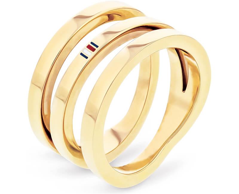 Tommy Hilfiger Plăci de aur placate cu aur TH2701100