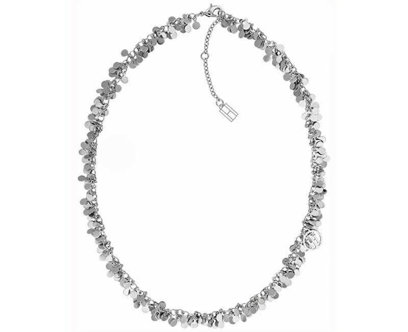 Tommy Hilfiger Ocelový penízkový náhrdelník TH2780017