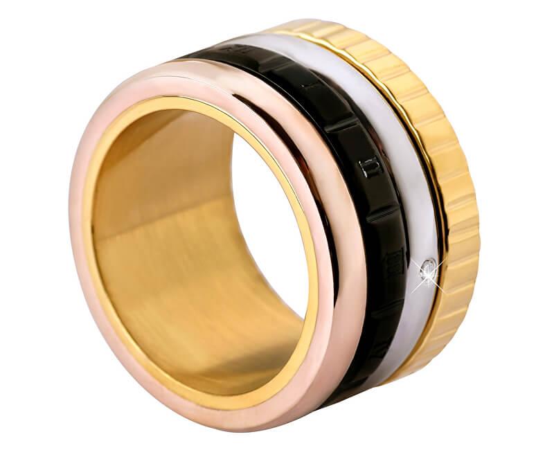 Troli Čtyřbarevný ocelový prsten